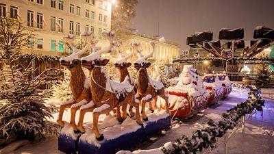 How do Christmas celebrations differ around Europe?