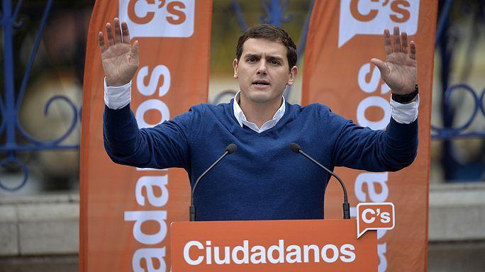 """Espagne : Ciudadanos veut """"sceller un accord"""" avec les conservateurs et les socialistes"""