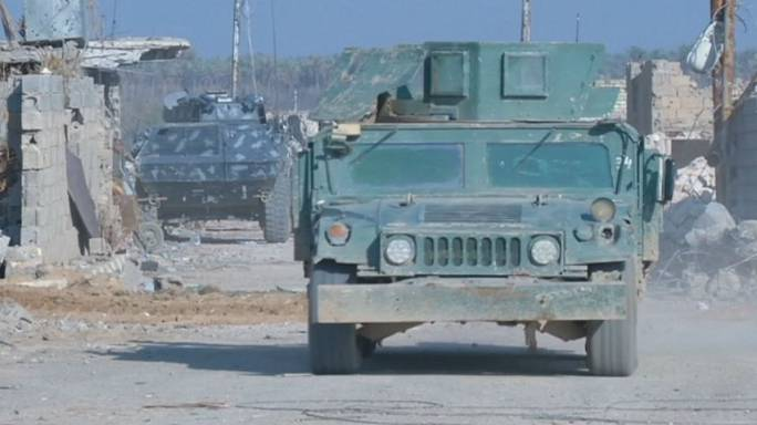 العراق: قوات جهاز مكافحة الارهاب تستعد لاقتحام منطقة الحوز في مدينة الرمادي