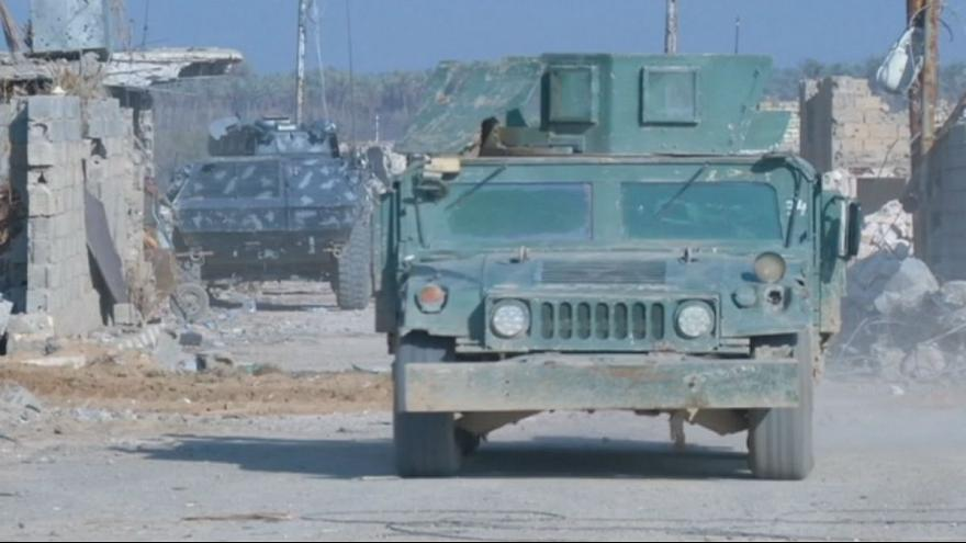 Iraqi forces claim the battle for Ramadi is almost won