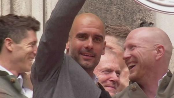 Guardiola - Manchester City?