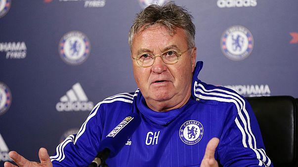 'Glad to be back' - Hiddink on Chelsea return