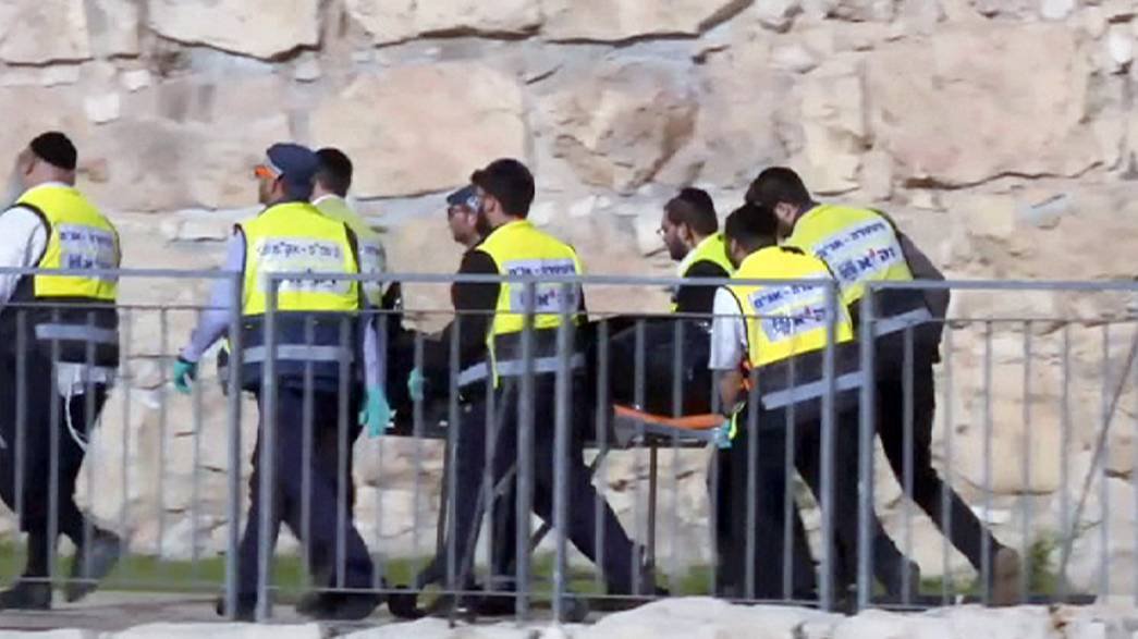 Fatal attack in Jerusalem at the Jaffa Gate