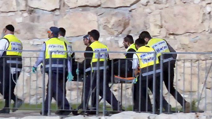Kudüs'teki bıçaklı saldırı sonrası yaşananlar şok etti