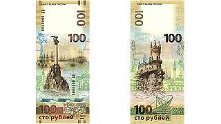 Banconota da 100 rubli per celebrare l'annessione della Crimea alla Russia