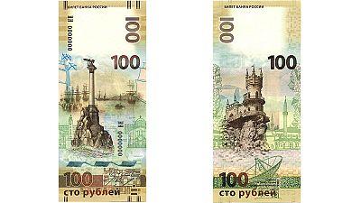 Russland gibt Banknote mit Krim-Motiven heraus