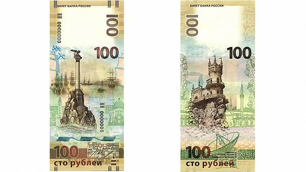 Russia issues banknote dedicated to Crimea