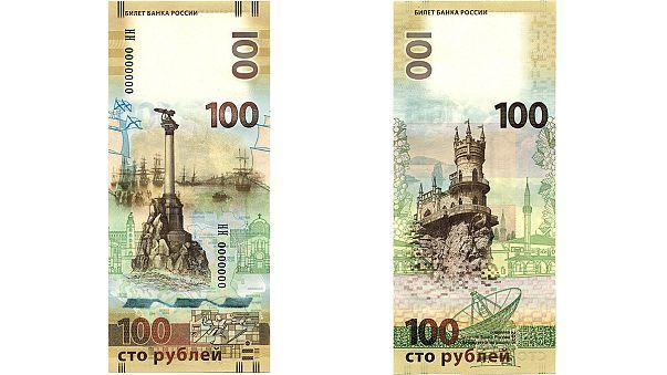 Moskova, Kırım'ın Rusya'ya bağlanması anısına 100 Rublelik para bastırdı