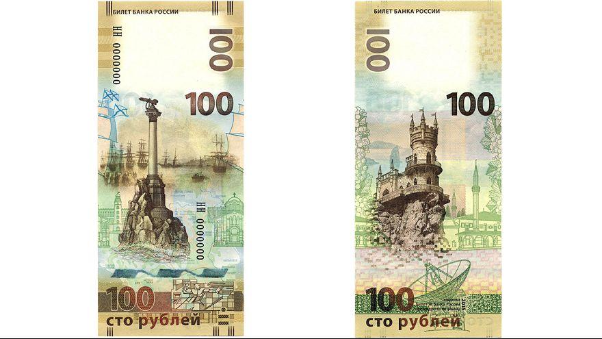Rússia: Nova nota de 100 rublos