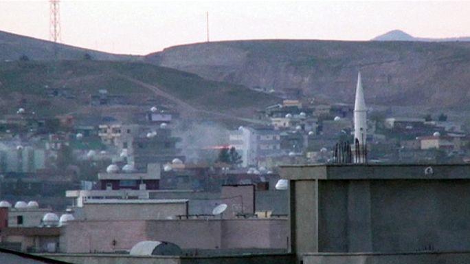 مشهد العنف مستمر في مدن جنوب شرق تركيا