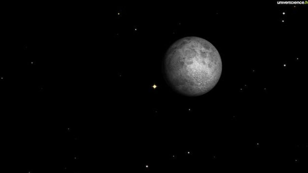 La Lune et Aldébaran