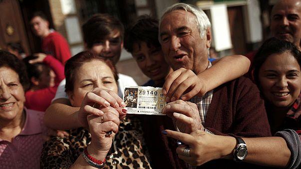 Négyszázezer eurót nyert egy szenegáli menekült a spanyol karácsonyi lottón