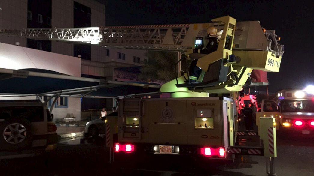Incendio in un ospedale in Arabia saudita: morti e feriti