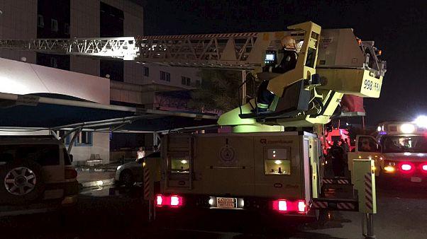 Két tucat halott a szaúd-arábiai kórháztűzben