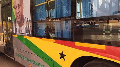 Ghana: Transport minister resigns over high-spending in branding public buses