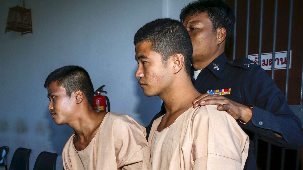 Condannati a morte in Thailandia i birmani processati per l'omicidio di due britannici