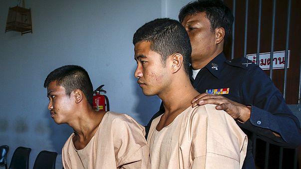 Thaïlande : deux Birmans condamnés à mort pour le meurtre de touristes britanniques
