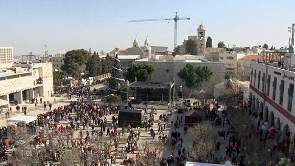 Weihnachten im Heiligen Land? Nur wenige Touristen in Bethlehem