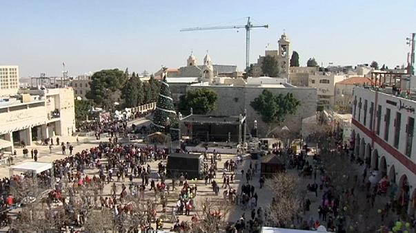 Cisjordânia: Belém prepara natal sob fortes medidas de segurança