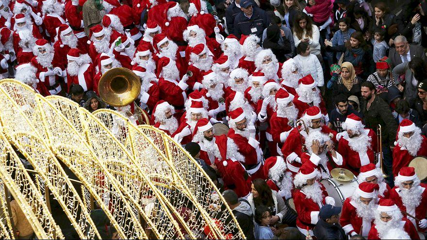 Suivez en live les célébrations de Noël à travers le monde