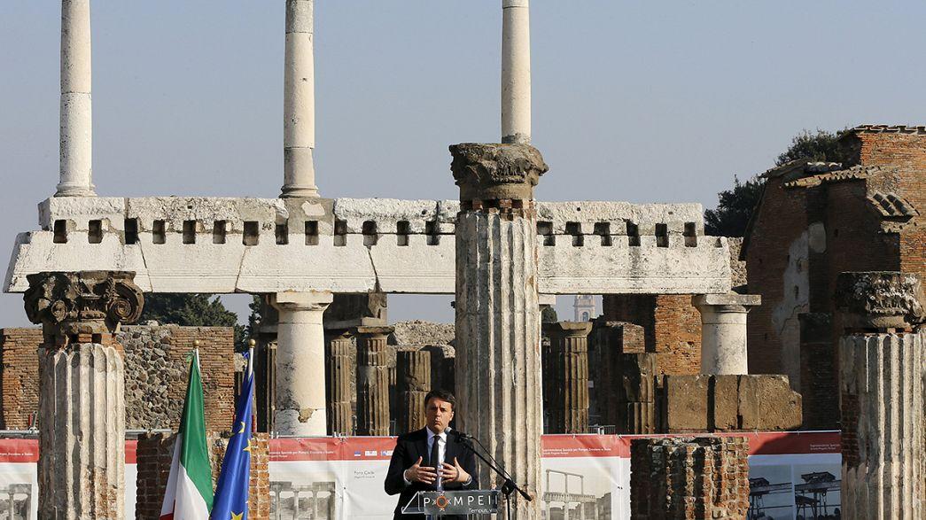 """Pompéi : six """"domus"""" restaurés ouvrent au public"""