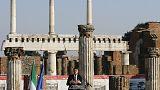 """Itália: Pompeia reabre 6 """"domus"""""""