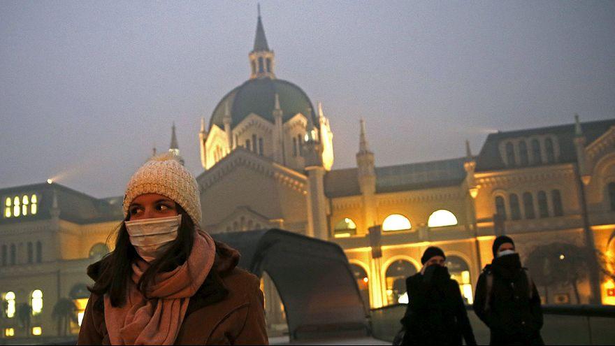 Alerta roja por contaminación en diez ciudades chinas