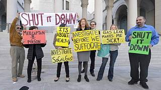 California gas leak sparks protests as concerns mount