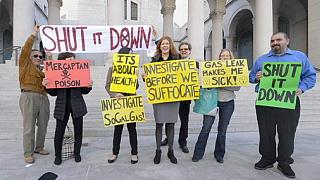 قلق متزايد جراء استمرار تسرب لغاز الميثان بولاية كاليفورنيا