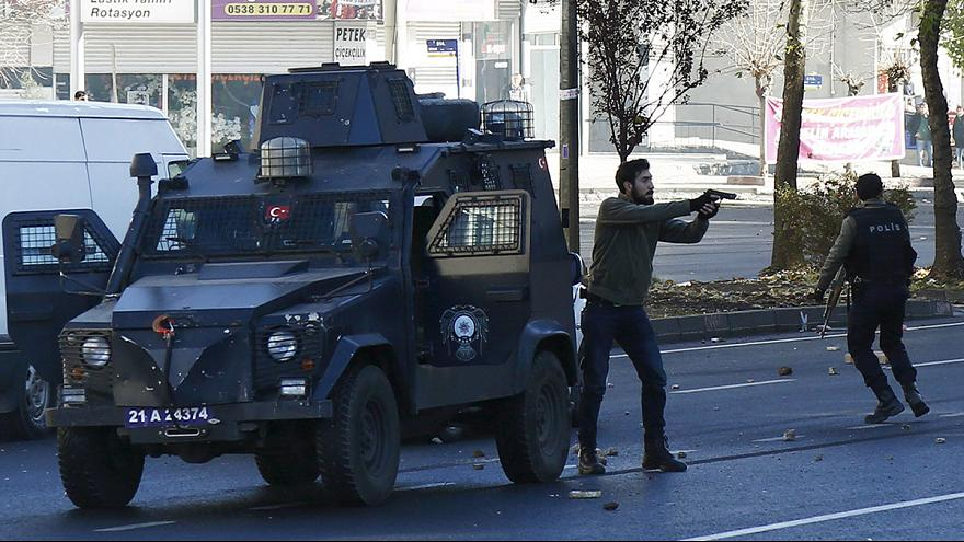 Fighting intensifies in southeastern Turkey
