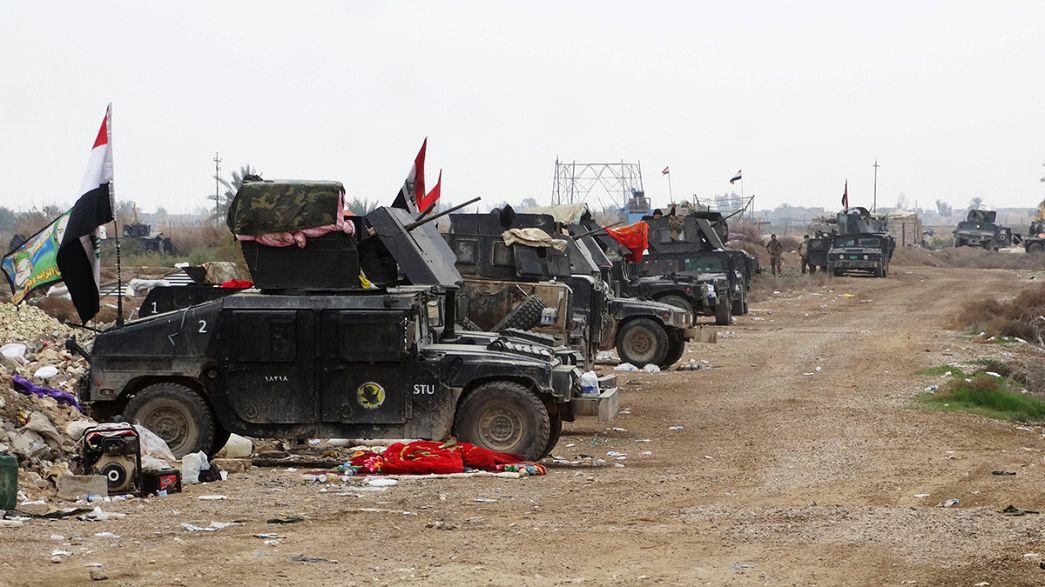 معركة في الرمادي العراقية لاستعادتها من تنظيم داعش