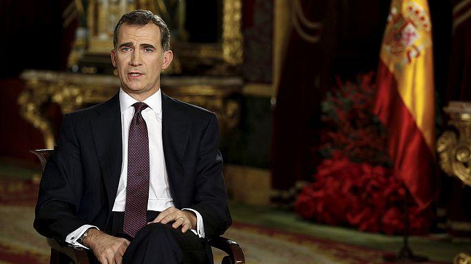 Le roi d'Espagne appelle à l'unité sur fond de crise politique