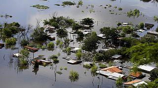 Güney Amerika'da sel felaketi