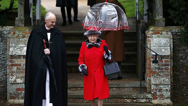Britain's Royal Family attends traditional Sandringham church service