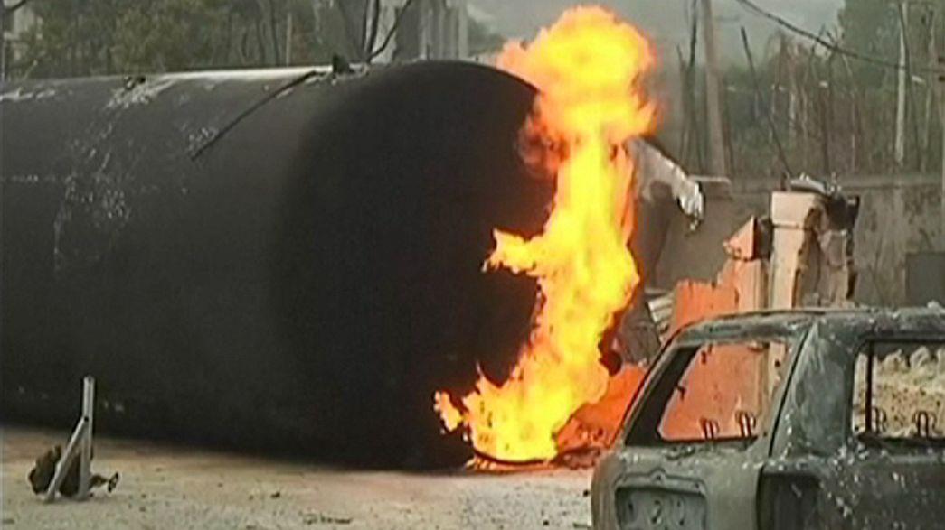 Nigeria: Explosion an belebter Gasabfüllstation