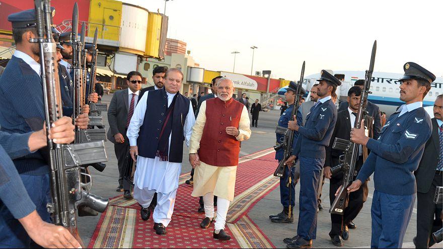 Visita sorpresa del primer ministro indio a Pakistán