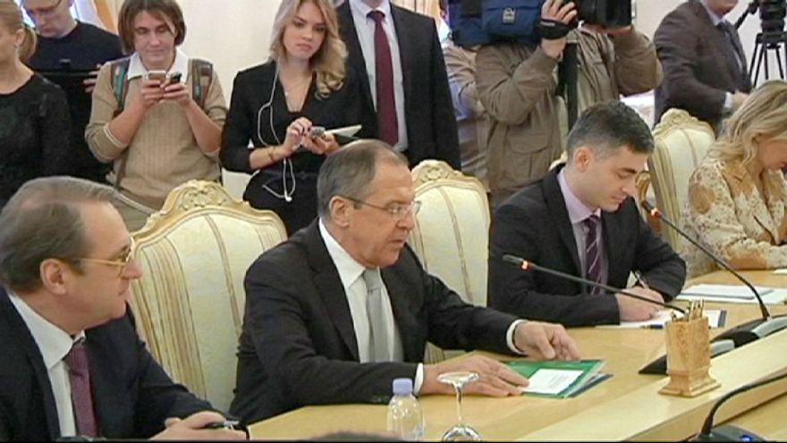 Katar ve Rusya dışişleri bakanları Suriye krizini görüştü