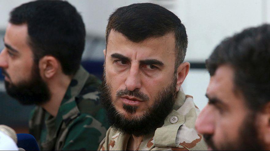 Head of Syrian rebel group Jaysh al Islam 'killed in airstrike'