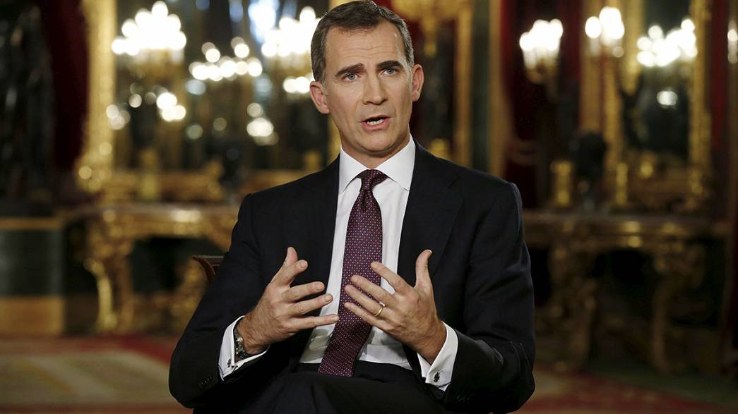 Philip VI's call for national unity heard loud and clear by Basques & Catalans