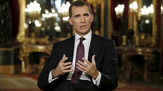 واکنش منفی مخالفان به سخنان پادشاه اسپانیا