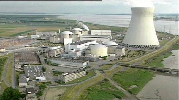 Szivárgás egy belga atomerőműben