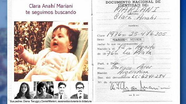 Avó reencontra neta sequestrada há 39 anos durante a ditadura militar