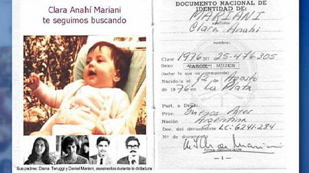 39 años después, se reencuentra con su nieta