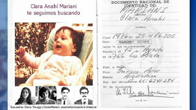 "Argentine ""stolen baby"" reunited with grandmother after 39 years"