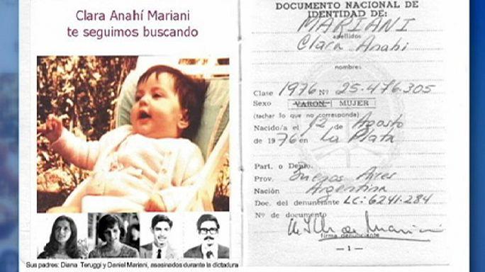 Előkerült a százhuszadik elrabolt argentín gyermek