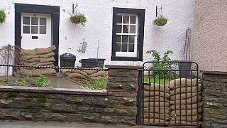 Mehr als 40 Flutwarnungen in Großbritannien