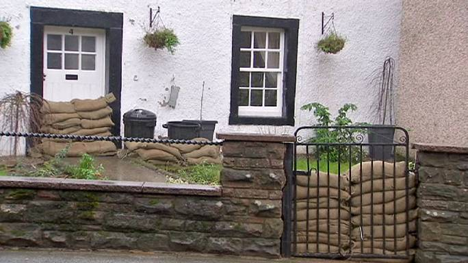 Le comté de Cumbrie inondé pour la troisième fois en un mois