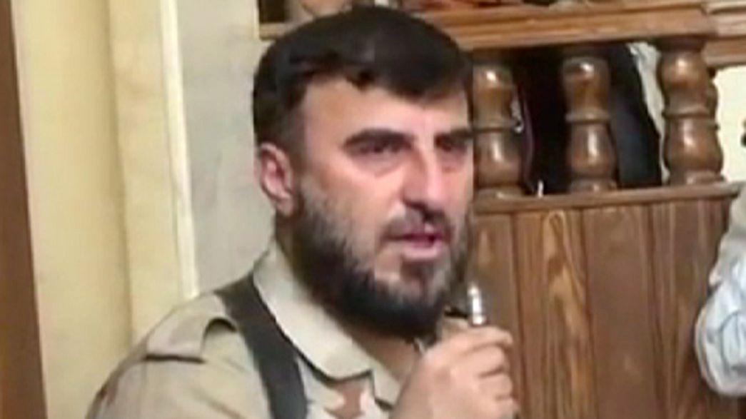 Syrie : la mort du principal chef des rebelles islamistes menace le processus de paix