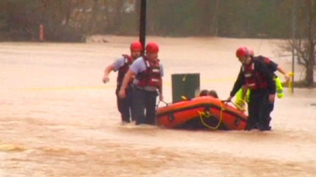 Etats-Unis : après la déferlante de tornades, des innondations dans le sud du pays