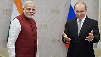 Putin and Modi sign nuclear, helicopter deals in Moscow